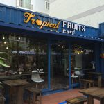 Tropical Fruits Cafe